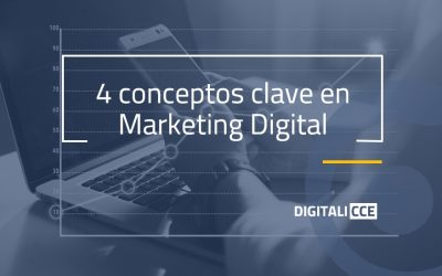 4 conceptos clave en Marketing Digital