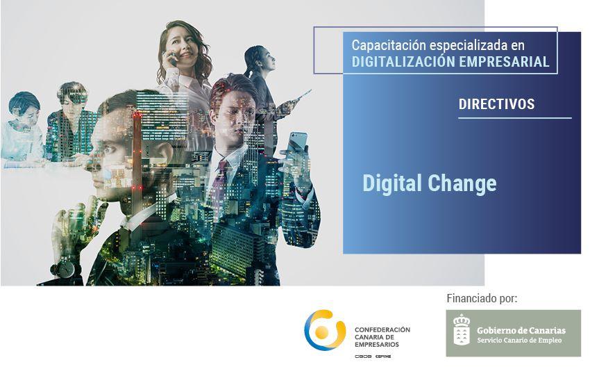 Acción formativa gratuita y presencial «Digital Change»