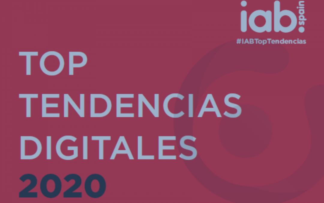 Informe Top Tendencias Digitales 2020 de IAB Spain