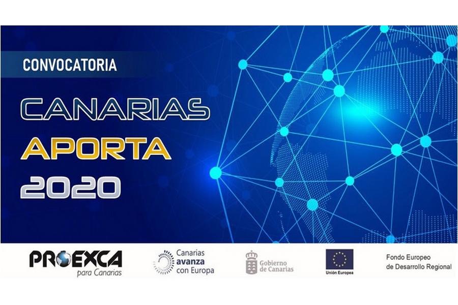 Abierta la convocatoria de subvenciones para proyectos de internacionalización: Canarias Aporta y Aporta Digital 2020
