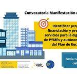 Convocatoria digitalizacion pymes y autonomos