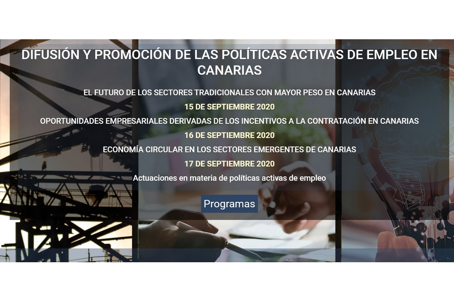 Evento | Difusión y promoción de las Políticas Activas de Empleo en Canarias