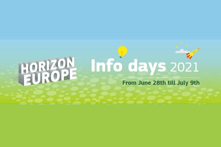 Jornadas informativas online: Primera edición de los Infodays 2021 de Horizonte Europa