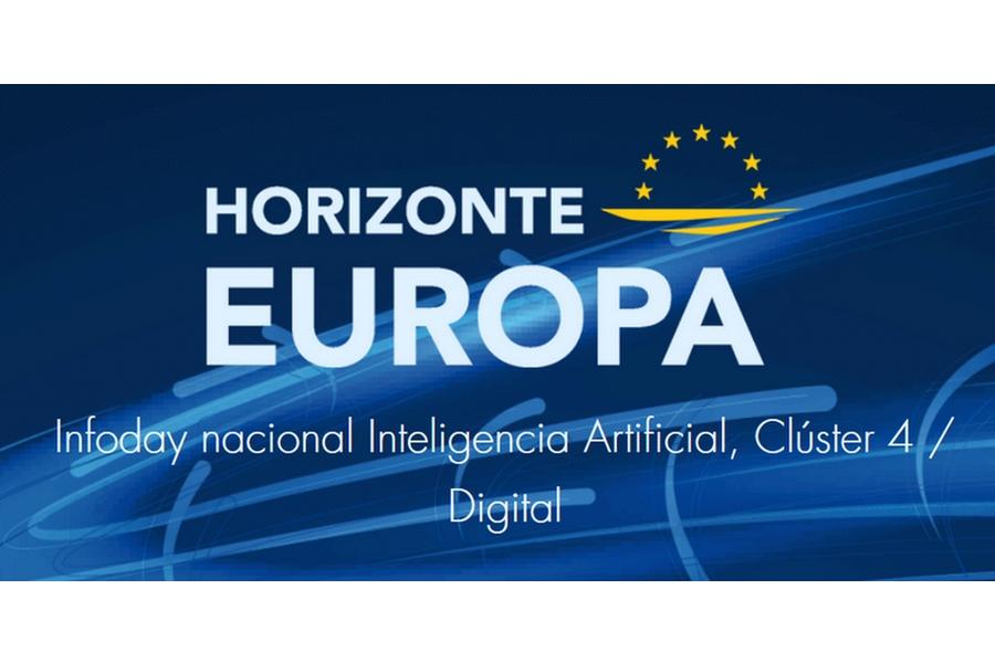 Webinario online: Horizonte Europa, Infoday nacional Inteligencia Artificial