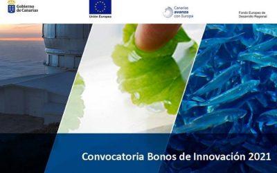 INNOBONOS 2021: Convocatoria del programa de Bonos de Innovación 2021 publicada por La Consejería de Economía, Conocimiento y Empleo