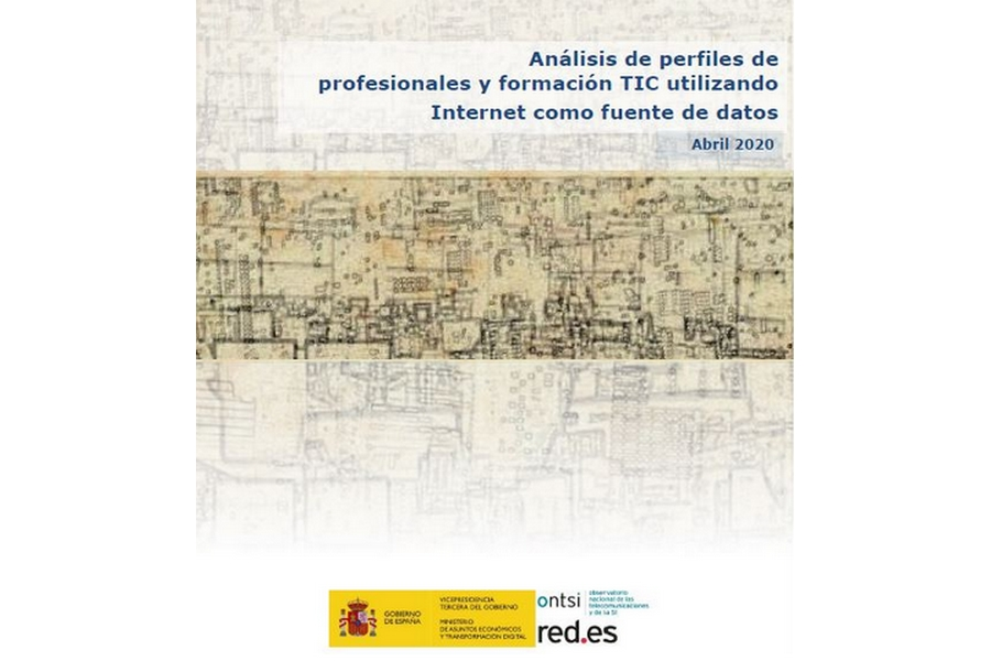 Análisis de perfiles de profesionales y formación TIC utilizando Internet como fuente de datos