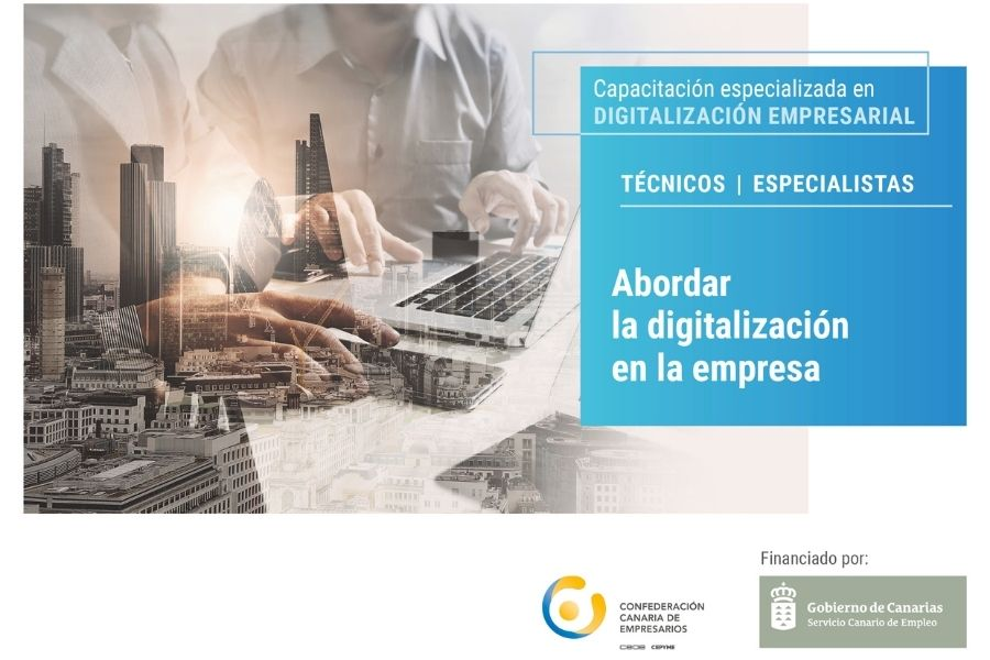 Webinar Gratuito «Abordar la digitalización en la empresa»