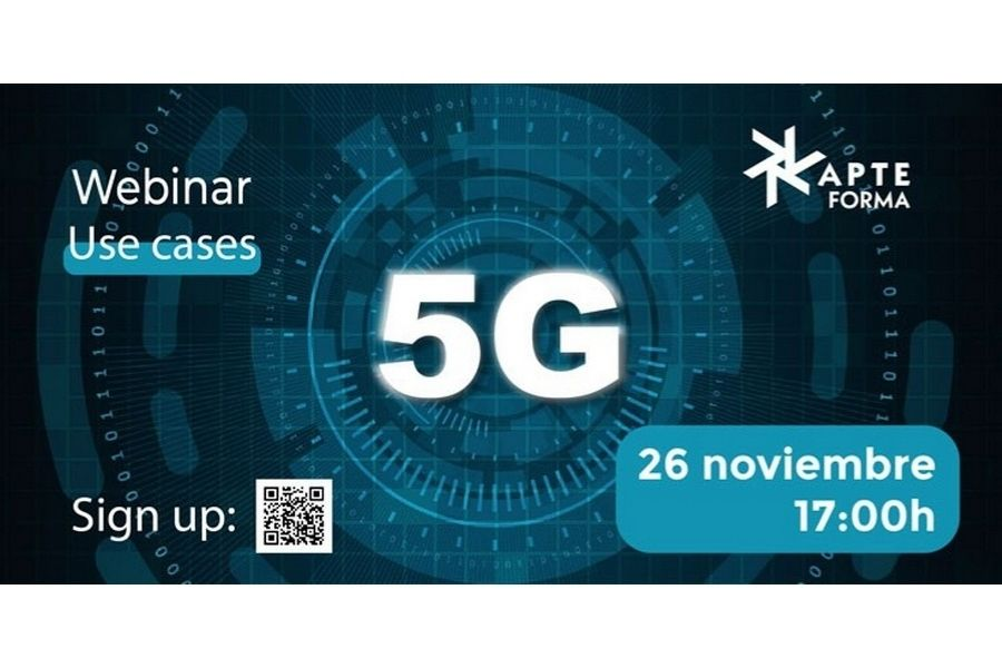 Webinar: Casos prácticos en tecnología 5G