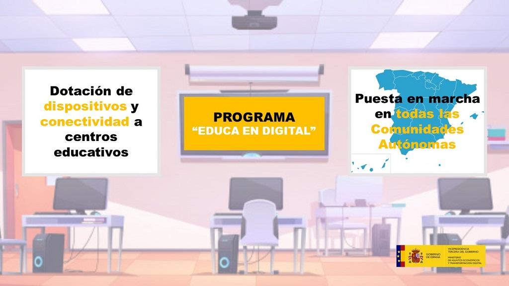 El Gobierno completa la extensión del programa Educa en Digital a todas las Comunidades Autónomas