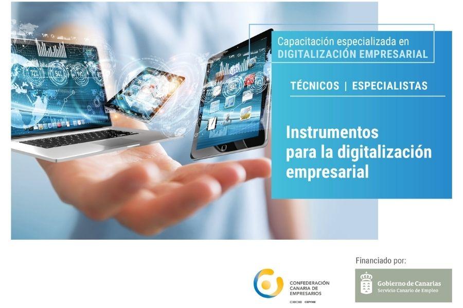 Webinar Gratuito «Instrumentos para la digitalización empresarial»