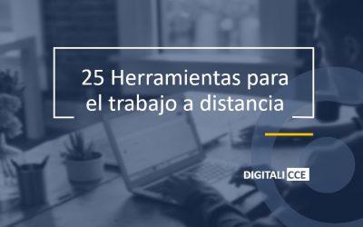 25 Herramientas para el trabajo a distancia