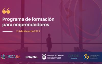 La Red Canaria de Business Angels (RECABA) pone en marcha el Programa de formación para emprendedores