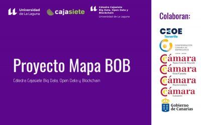 Puesto en marcha el proyecto Mapa BOB desarrollado por Cajasietey la Universidad de La Laguna