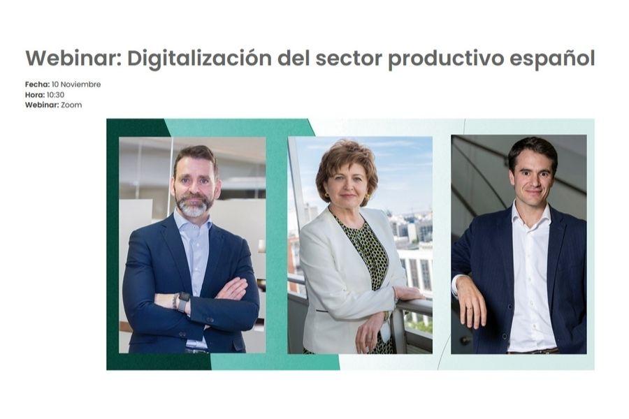 Webinar: Digitalización del sector productivo español